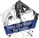 Good day woof for lunch