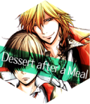 Dessert after a meal