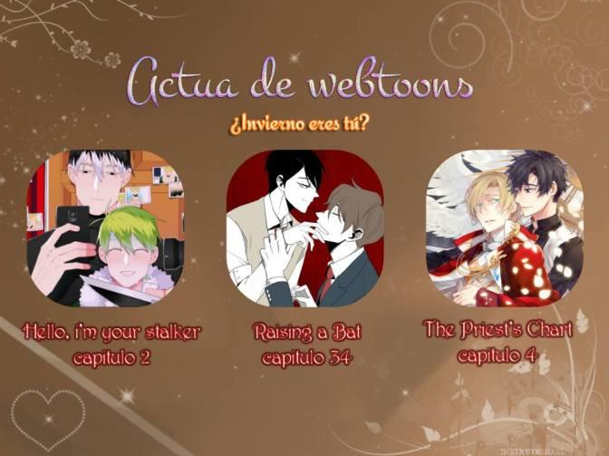 Actua de Webtoons: ¿Invierno eres tú?